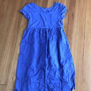 Gap maternity size medium purple/blue dress